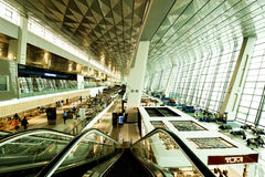 Airport Terminal. Terminal 3 Jakarta Airport Indonesia Royalty Free Stock Images