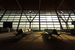 Airport Terminal. Of local features Royalty Free Stock Photos