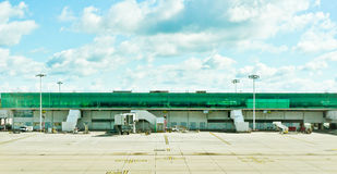 Airport terminal. A modern airport terminal in the UK Royalty Free Stock Photography