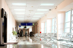 Airport terminal with nobody Royalty Free Stock Photography