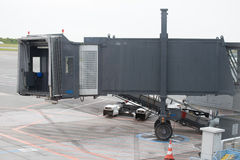 Airport terminal ramp Royalty Free Stock Photography