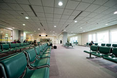 Airport Terminal Seating Stock Photos