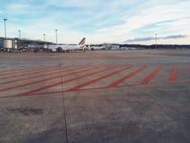 Airport terminal stock images