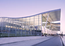 Airport terminal in Wroclaw,Poland Royalty Free Stock Photography
