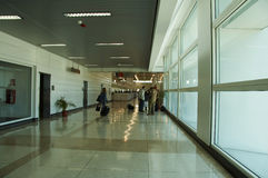 Airport time Royalty Free Stock Photography