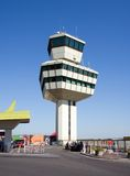 Airport Tower 2. Airport Tower of airport Germany berlin tegel Otto Lilienthal stock photo