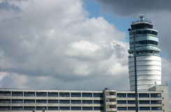 Airport tower Royalty Free Stock Photography