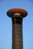 Airport traffic control tower Stock Photos