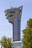 Airport traffic control tower Royalty Free Stock Photography