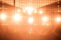 Airport traffic light Royalty Free Stock Photo