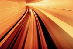Yellow Orange Blurred Abstract Royalty Free Stock Images