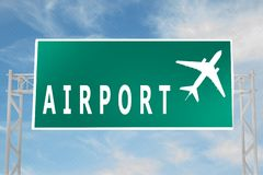 Free AIRPORT - Transportation Concept Royalty Free Stock Image - 147824586