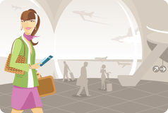 Airport Travel Royalty Free Stock Photo