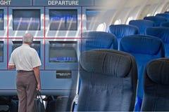 Airport Travel Montage Stock Photos