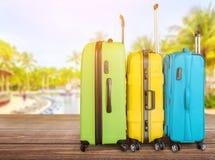 Airport. Travel plastic business loading handle train Stock Image