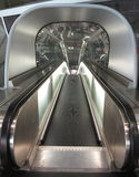Airport travelator Stock Image