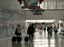 Airport Travelers Stock Photos