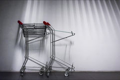 Airport Trolley Royalty Free Stock Images
