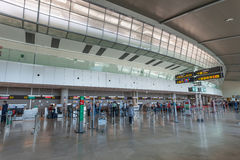 Airport of Valencia, Spain Stock Images