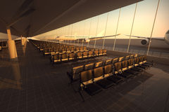 Airport. Royalty Free Stock Photography