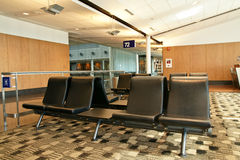 Airport waiting area Royalty Free Stock Images