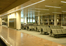 Airport Waiting Area Royalty Free Stock Photography