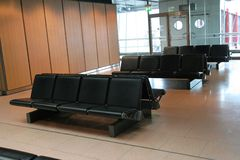 Airport waiting area Stock Photography