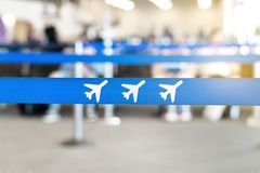 Airport waiting area, lobby or lounge. Royalty Free Stock Image
