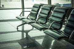 Airport waiting area Stock Images