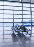 Airport waiting area Stock Image