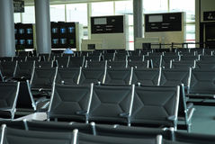 Airport waiting hall Royalty Free Stock Images