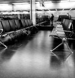 Airport waiting lounge Royalty Free Stock Images