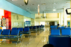 Airport. Waiting room. Beautiful interior Stock Images