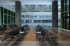 Airport, waiting room. Stock Image