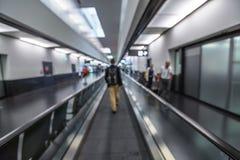 Airport Walkway Royalty Free Stock Photos