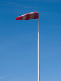 Airport windsock - vertical image Stock Photography