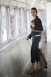 Airport Woman Royalty Free Stock Image