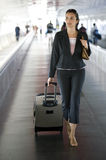 Airport Woman Stock Images
