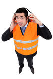 Airport worker Stock Image