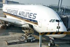 Airport working in Hongkong, China Stock Photos