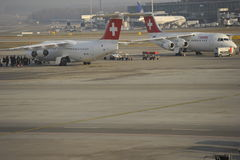 Airport Zurich Stock Photography