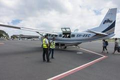 Airport Zanzibar Stock Image