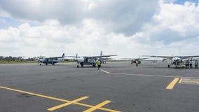 Airport Zanzibar Stock Photography
