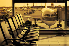 Airport11 Fotografia de Stock Royalty Free