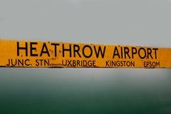 Airpot de Heathrow Imagem de Stock