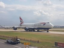airpot heathrow royaltyfri bild