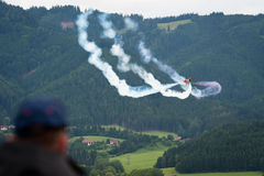 Airpower 2011 air show in Zeltweg, Austria stock photos