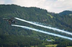 Airpower 2011 air show in Zeltweg, Austria Royalty Free Stock Image
