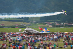 Airpower 2011 air show in Zeltweg, Austria Royalty Free Stock Images