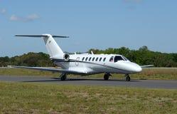 Airpplane de jet d'entreprise photographie stock